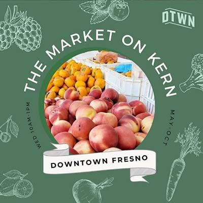 Join us every Wednesday at the Market on Kern!