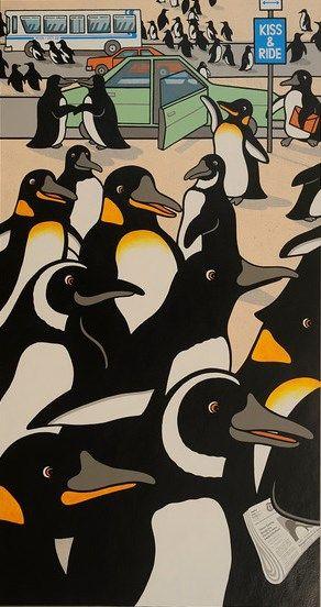 Penguin Rush Hour