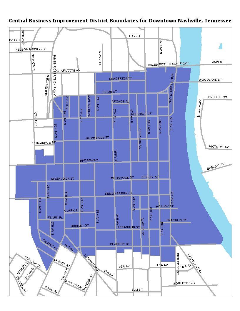 CBID Boundaries Map