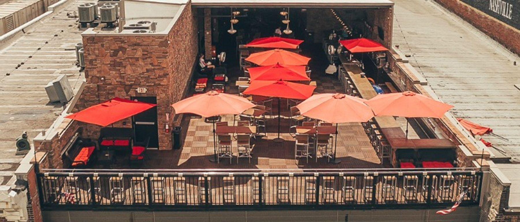 George Jones Museum's rooftop bar