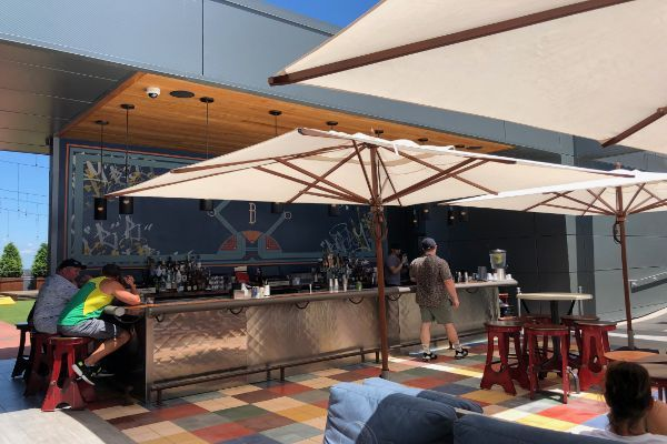 Rooftop Lounge at Bobby Hotel